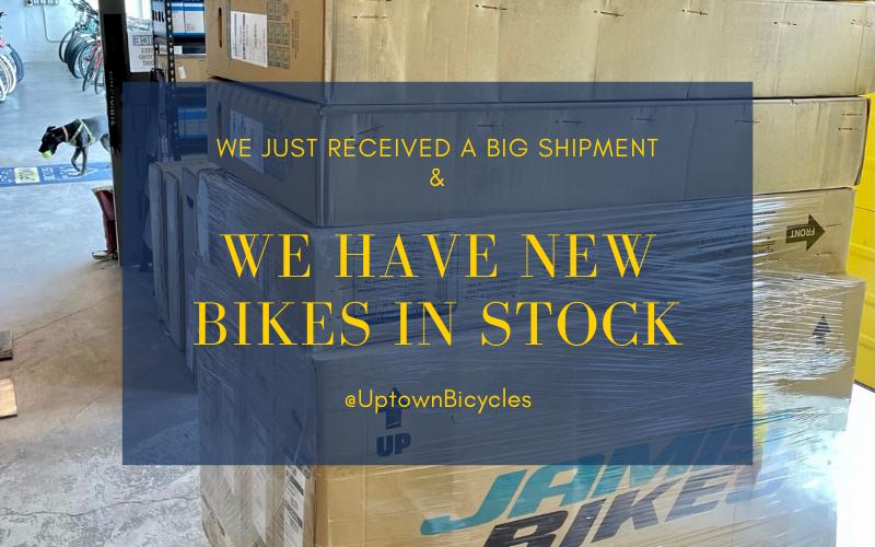 New Bikes In Stock